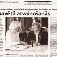 Zviedriete atvainojas par leģionāru izdošanu