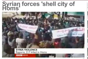 Sīrija, BBC