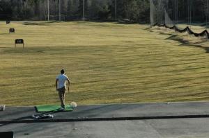 Golfs martā. 2012. Foto autore - Sandra Veinberga