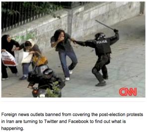 Irāna, CNN