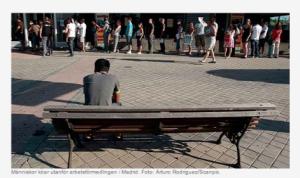 Bezdarbnieku rinda Madridē, SR