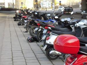 Mopēdi Stokholmā