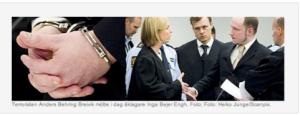 Breivīka process, Oslo tiesā, SR