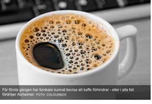 Kafija - veselības garants?