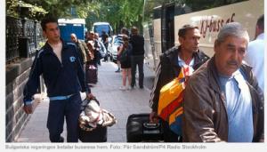 Bulgāru ogu lasītājus evakuē no Stokholmas. SR