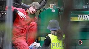 Protesti Gotlandē, 2012.01.09