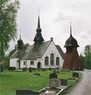 Leruma baznīca, Zviedrija