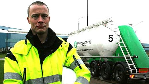 Uzņēmuma Pilkington likvidācija; foto SR