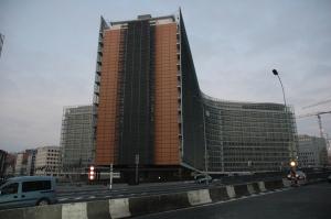 NATO mītne Briselē. Autores foto.