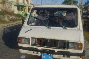 Mikroautobuss RAF - Latvija, 2013. gada februāris Kuba, Varadero.