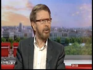 Bjerns Ulveuss Abba joks BBC