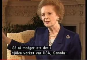 Margareta Tečere intervija Zviedrijas Tv