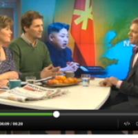 """Ziemeļkorejas diktators """"piedalās"""" zviedru sabiedriskās TV raidījumā"""