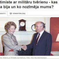Optimiste ar militāru tvērienu - kas viņa bija un ko nozīmēja mums?