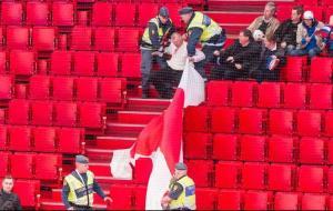 Baltkrievu karogs Stokholma
