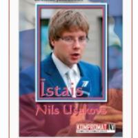 Grāmata par Nilu Ušakovu pamācoša lasāmviela par draudiem preses brīvībai Latvijā