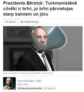 TVNET Berzins Ostrovskis