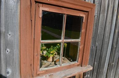 Vecie logu stikli notecējuši