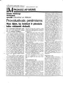 Literatura un Māksla raksts 1993. 11. jūnijs