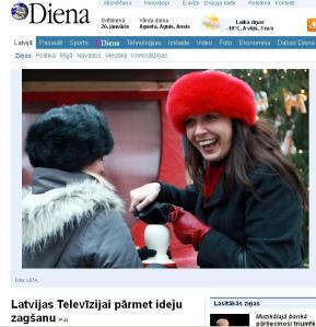 Žaklīna Cinovska un LTV un Dienas konflikts
