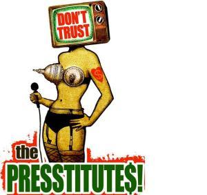 Prestitūtas ASV karikatūra