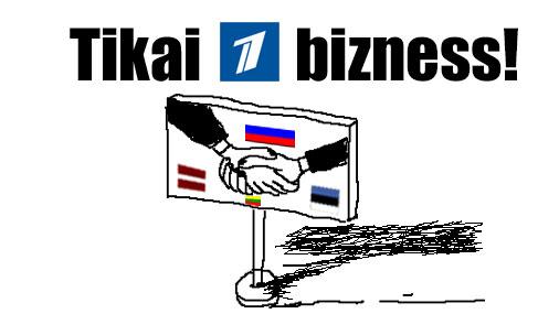 Tikai Bizness TVNet  bilde par Krievijas Televīzijām