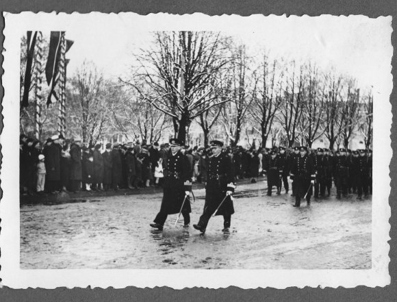 1938. gada 18. novembris, Rīga, Latvijas armijas parāde, © Hermanis Veinbergs /Sandra Veinberga, NordicBaltic Communications