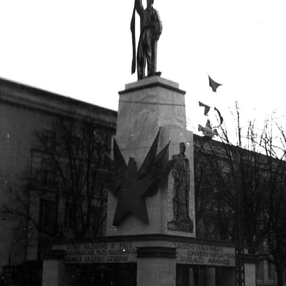 1940. g. 7. novembris Rīga, © Hermanis Veinbergs / Sandra Veinberga, NordicBaltic Communications