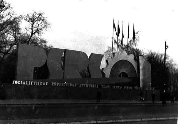 1940. g. 7. novembris Rīga, © Hermanis Veinbergs / Sandra Veinberga, NordicBaltic Communications