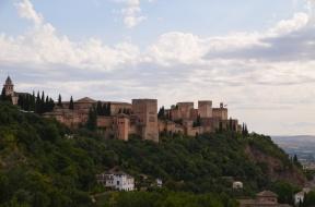 Granāda jūnijs 2014 Alhambras pils