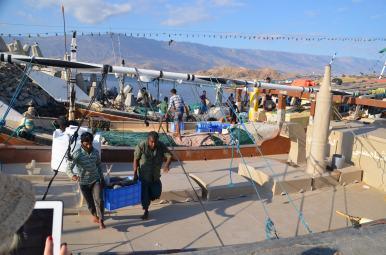 Zvejnieki 1, Omana