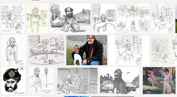 Larša Vilka zīmējumi