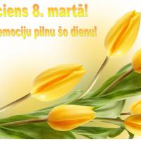 """Liekulības sieviešu diena - """"tulpju svētki"""" Rīgā jeb 8. marts, kas būtu jāsvin?"""