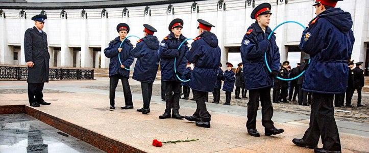 Armijas vingrojumi, foto E.Tedesjo