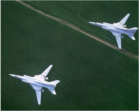 Krievijas kara lidmašīnas