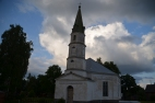 Palsmanes baznīca, pievakarē