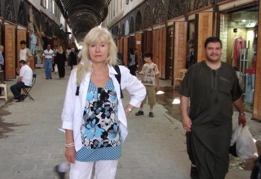Sandra Veinberga Damaskā, Sīrijā