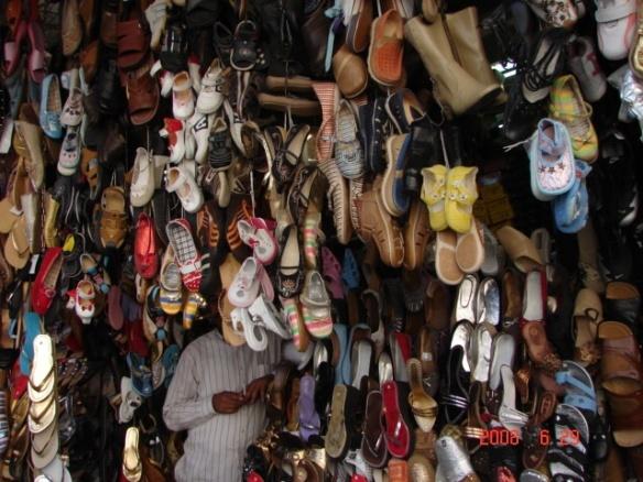 Apavu veikals Damaska, foto Sandra Veinberga