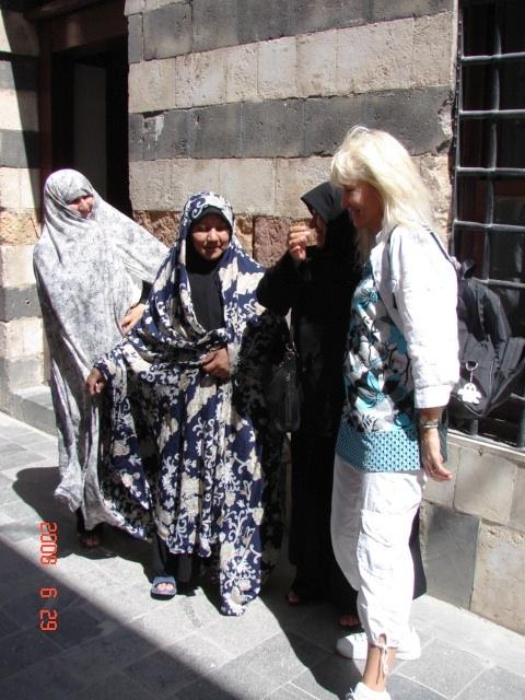 Sandra Veinberga, Sīrijā, Damaskā