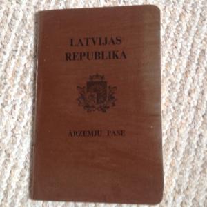 Pirmskara Latvijas ārzemju pase