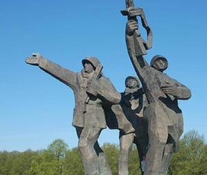 Sarkanās armijas propagandas fetišs Rīgā