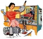 Laimīgā mājsaimniece