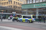 Stokholma pēc terorakta 2017. gada 10. aprīlis. Autores foto.