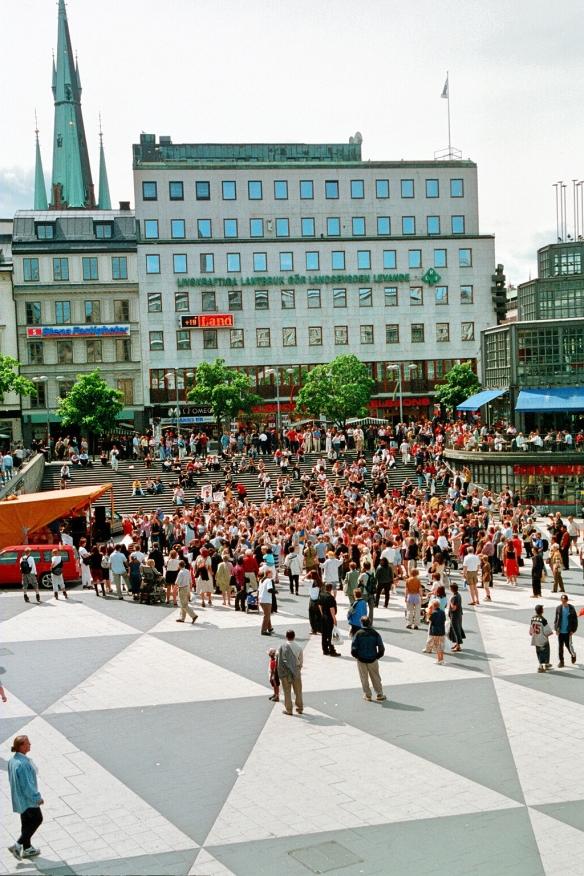 Sergela laukums. Foto: Guntars Veinbergs