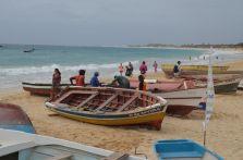 Laivu krāsošana Santa Maria a piestātnē