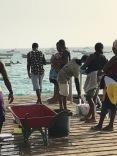 Vietējie zvejnieki Santa Maria, Kaboverde