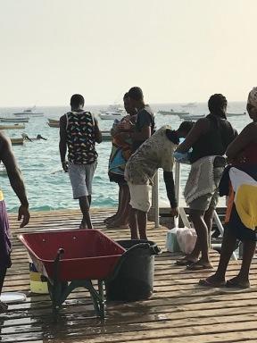 Zivju loms Santa Maria piestātnē